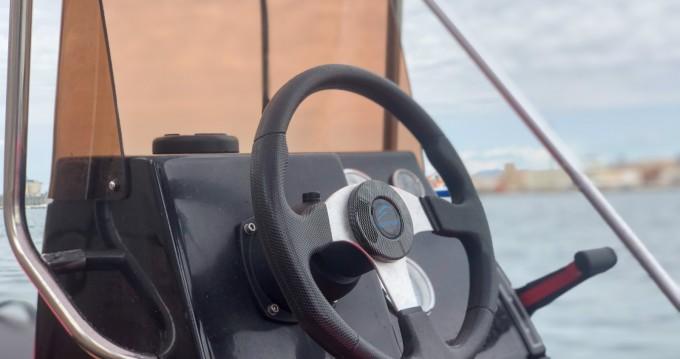 Hire Motorboat with or without skipper Rimini Rib Port de Alicante