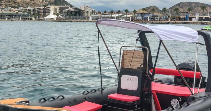 Rent a Rimini Rib 6m Port de Alicante