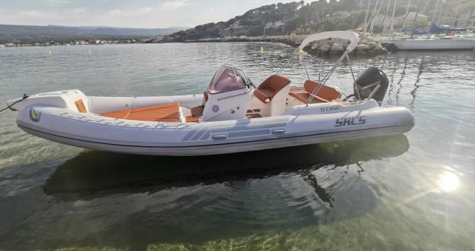 Rental RIB in Saint-Cyr-sur-Mer - Sacs Sacs S 780