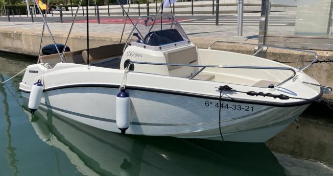 Boat rental Mataró cheap Activ 505 Open