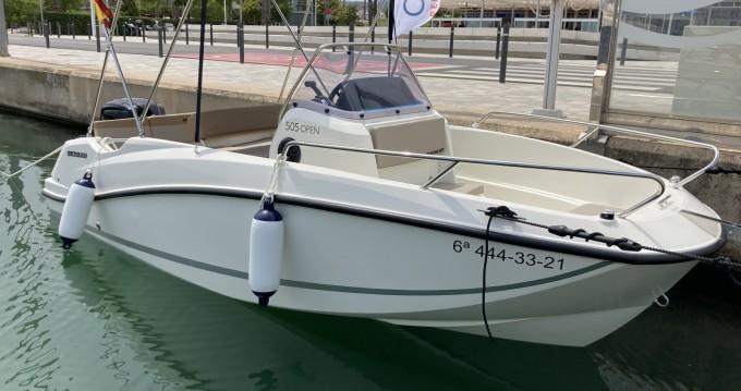 Rental yacht Mataró - Quicksilver Activ 505 Open on SamBoat