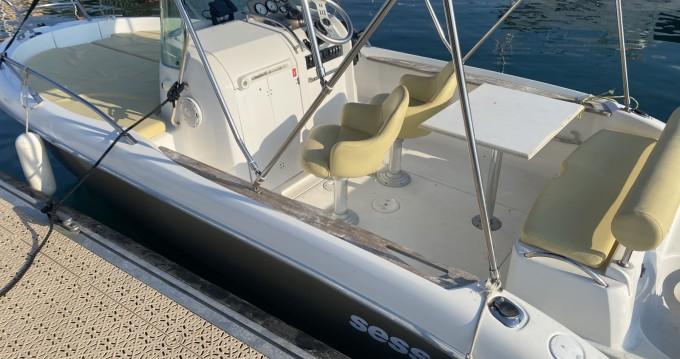 Rent a Sessa Marine Key Largo 20 Deck Fréjus