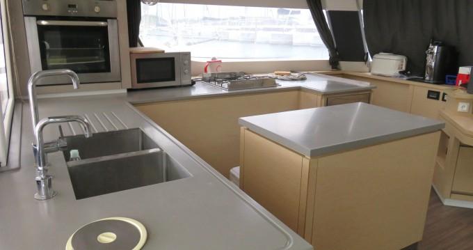 Rental Catamaran in Saint Vincent and the Grenadines - Unknown Brand SABA 50 Crew SABA 50 Crew