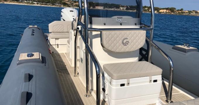 Boat rental Ajaccio cheap Tempest 900 Sun