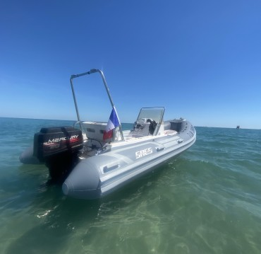 Hire RIB with or without skipper Sacs Carnon-Plage