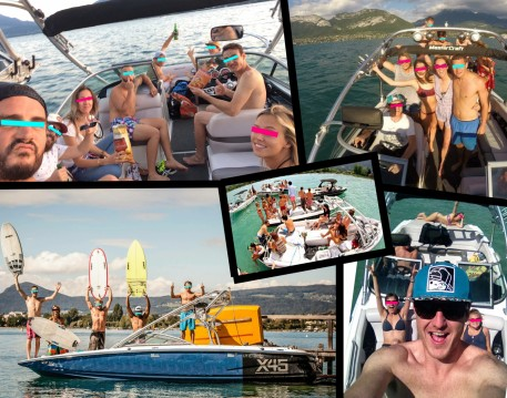 Hire Motorboat with or without skipper Mastercraft Annecy