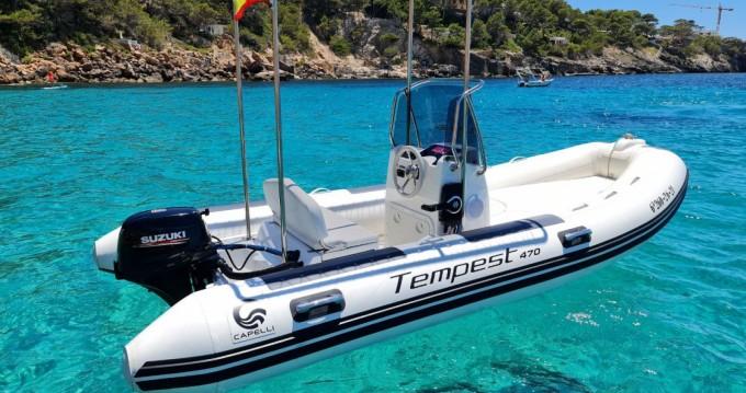 Boat rental Badia de Santa Ponça cheap Tempest 470
