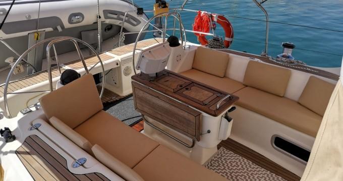 Boat rental San Antonio Port cheap Bavaria 50 Cruiser