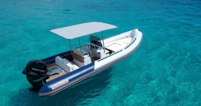 RIB for rent Playa de Talamanca at the best price