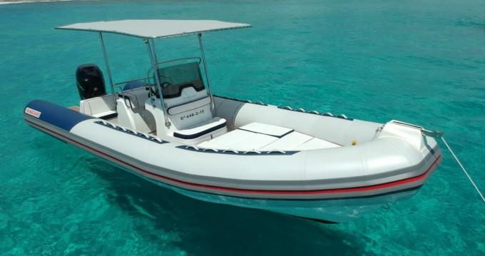 Rental RIB in Playa de Talamanca - Vanguard 760 Family