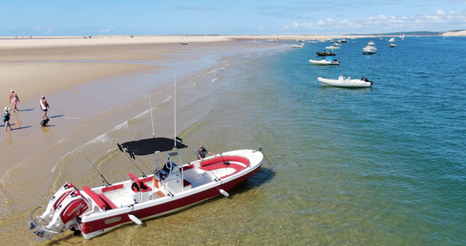 Rental Motorboat in Port de la Vigne - PangaFerret Pro Open 26