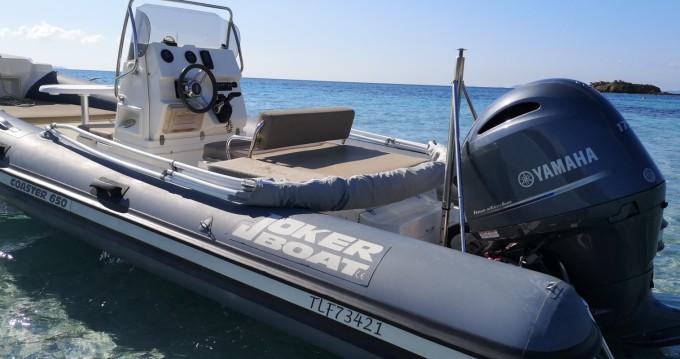 Boat rental Joker Boat Coaster 650 in La Londe-les-Maures on Samboat