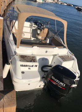 Hire Motorboat with or without skipper Jeanneau Gapeau