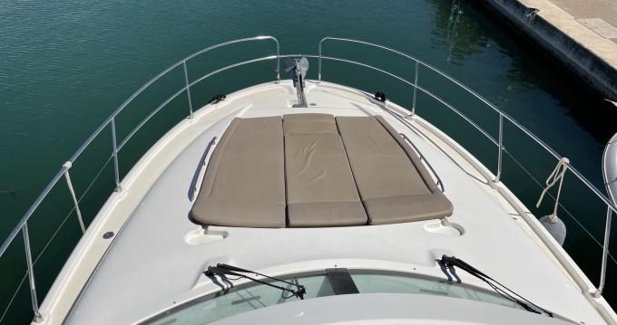 Rental Motorboat in Cannes - Jeanneau Prestige 440 Fly