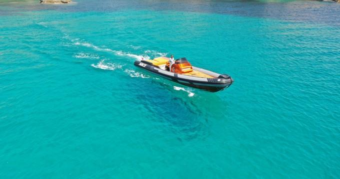 Rent a Sacs Stratos 42 Ibiza Island