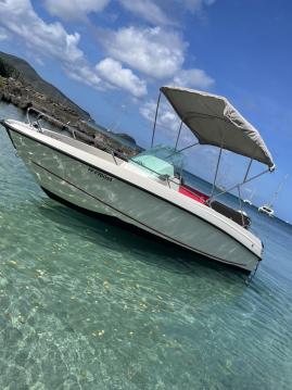 Boat rental Les Trois-Îlets cheap sting 530