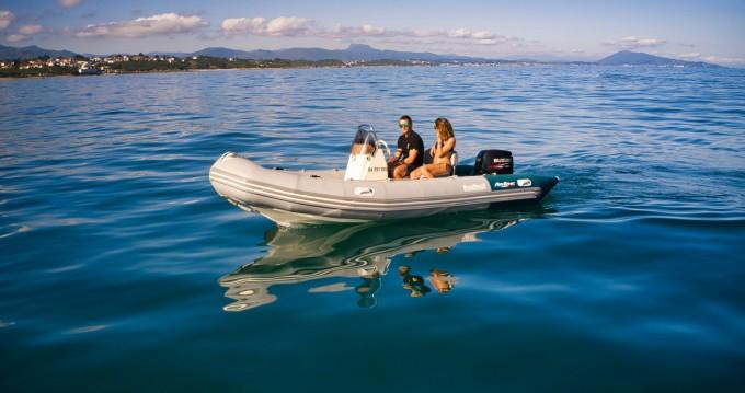 Boat rental Bombard Air Ethic 500 in Saint-Jean-de-Luz on Samboat