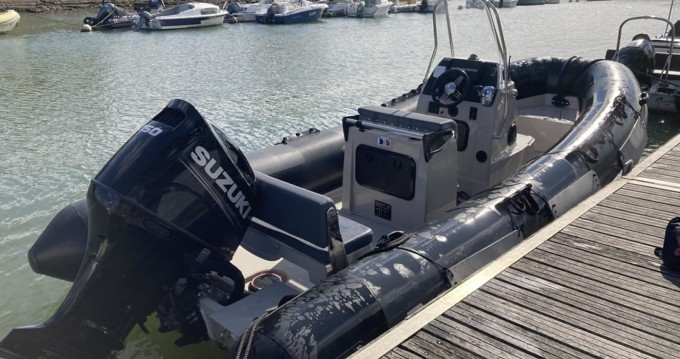 Hire RIB with or without skipper Pro Marine Vannes
