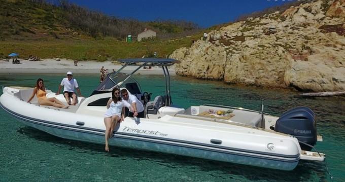 Hire RIB with or without skipper Capelli Ajaccio