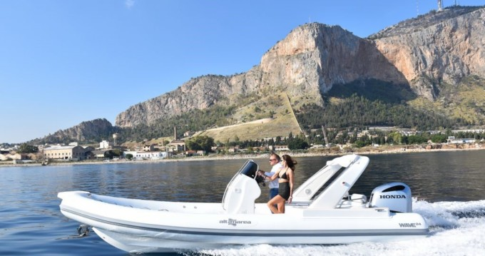 RIB for rent Palermo at the best price