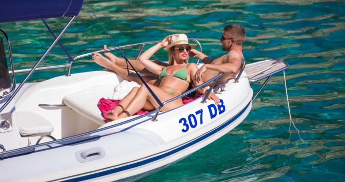Hire RIB with or without skipper Salona Dubrovnik