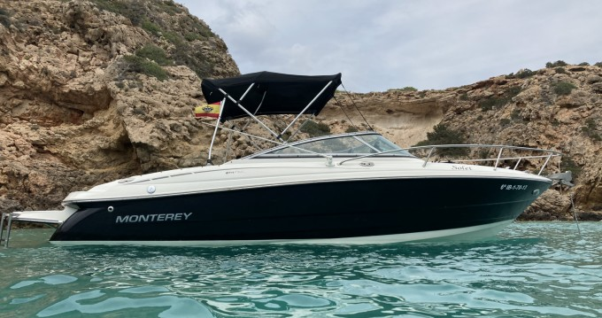 Rental Motorboat in San Antonio Port - Monterey Monterey 214 FS