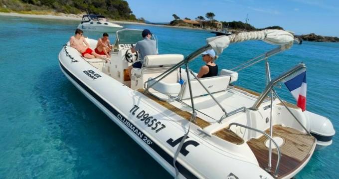 Boat rental Joker Boat Clubman 26 Special in Cogolin on Samboat