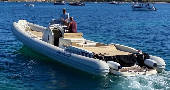 Hire RIB with or without skipper Sacs Port Grimaud