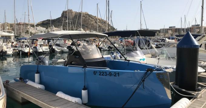 Boat rental Port de Alicante cheap kattleya x6