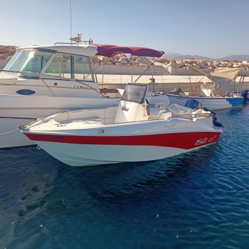 Hire RIB with or without skipper Rib Chania