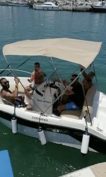 Rent a Mareti 450 open Puerto Marina Benalmadena