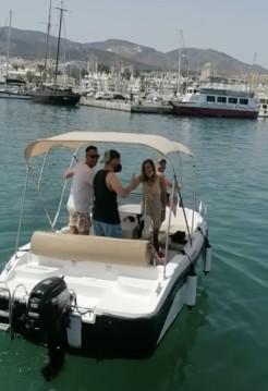 Rental Motorboat in Puerto Marina Benalmadena - Mareti 450 open