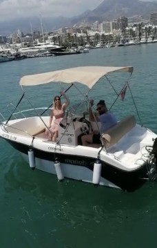 Motorboat for rent Puerto Marina Benalmadena at the best price