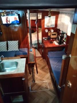 Boat rental Finnsailer 35 Finnsailer 35 in Golfe-Juan on Samboat