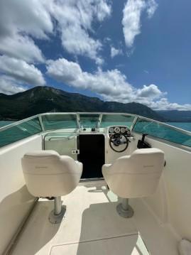 Rental Motorboat in Annecy - Jeanneau Leader 605