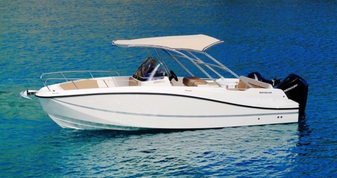 Hire Motorboat with or without skipper Quicksilver Rhodes