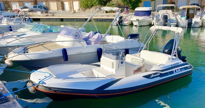 Boat rental Zar Zar 53 in Bormes-les-Mimosas on Samboat