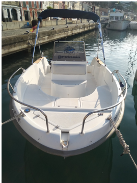 Rental Motorboat in Mahon Port - Astec 540