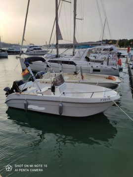 Hire Motorboat with or without skipper Astec Mahon Port