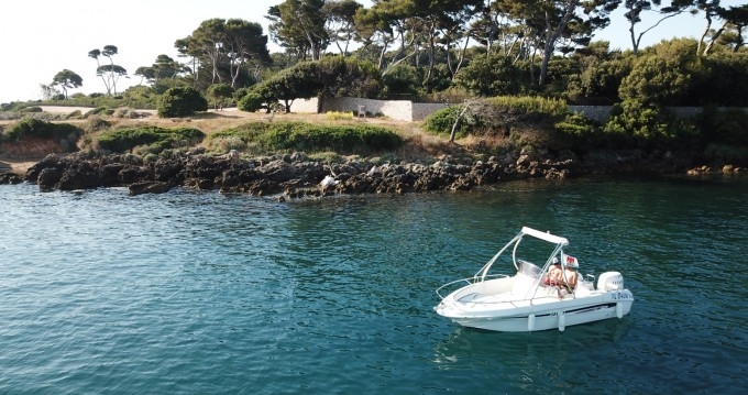 Rental Motorboat Selva with a permit