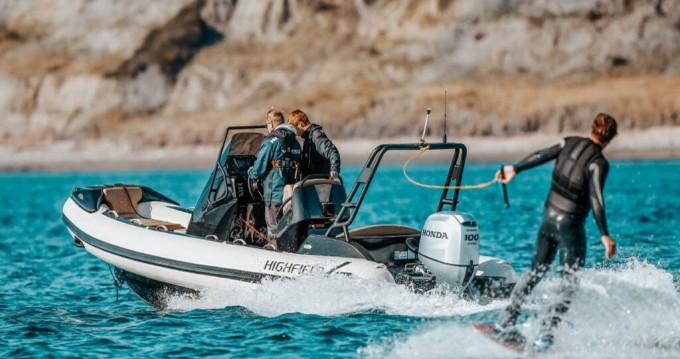 Boat rental  Highfield Sport 560 in Mali Lošinj on Samboat