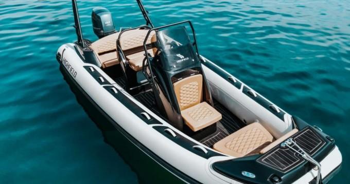 Rental yacht Mali Lošinj -  Highfield Sport 560 on SamBoat