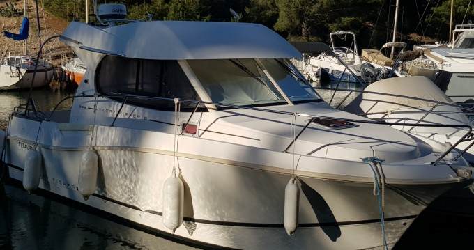 Boat rental Calanque de Port-Miou cheap Merry Fisher 8