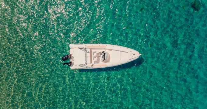 Motomarin Moto Marine SuperOnda between personal and professional Spetses Port