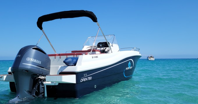 Hire Motorboat with or without skipper Pacific Craft Saint-Florent
