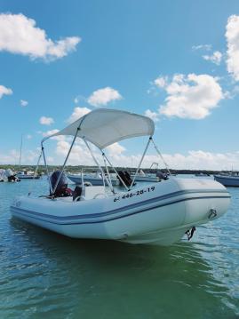Boat rental Formentera cheap Cadet 390