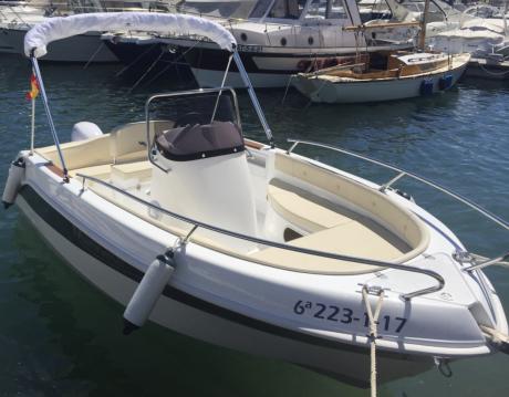 Rent a Marinello Fisherman 16 Port de Alicante