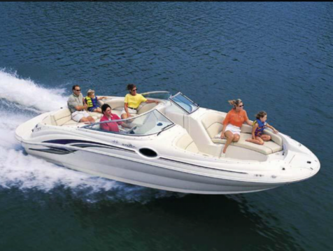 Rental Motorboat in Port d'Alcudia - Sea Ray Sea Ray 240 Sundeck