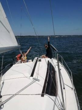 Rental Sailboat in L'Herbe - Gibert Marine Gib Sea 262 DI