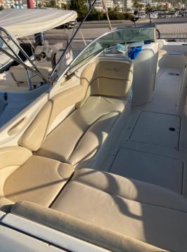Boat rental Port d'Alcudia cheap Sea Ray 240 Sundeck